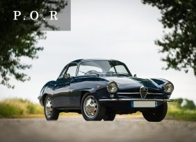 Alfa Romeo Giulia Sprint Speciale Auto Classica Capital Partners