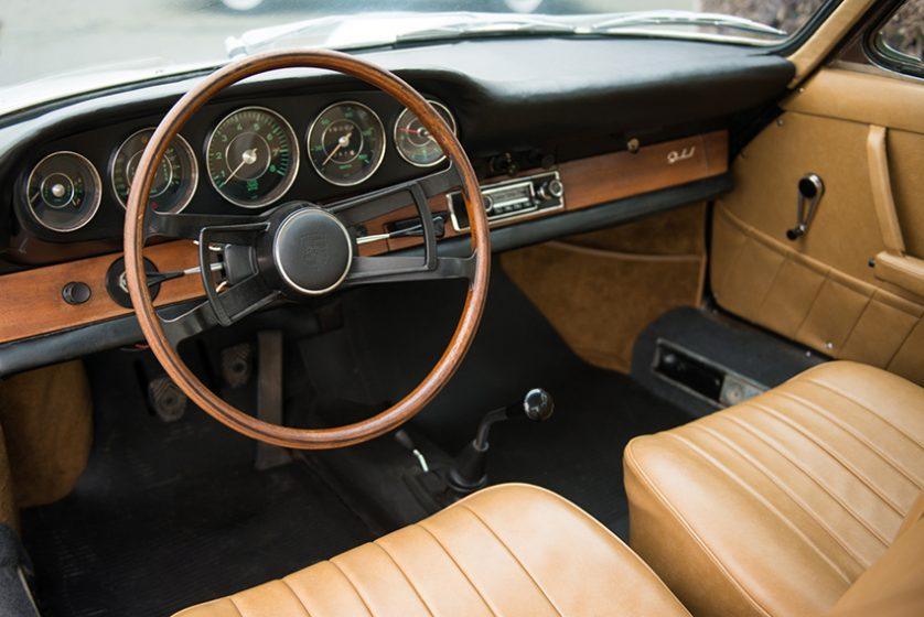 Porsche 911 «empattement court» coupé 1965