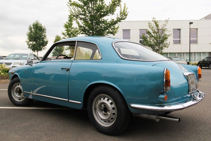 ALFA ROMEO Giulietta Sprint Veloce 1962